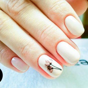 manicure bez użycuia cążek