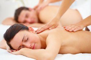 Podwójny masaż całego ciała