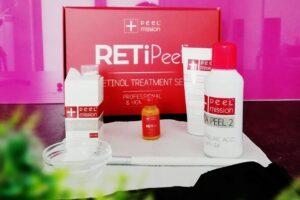 Zabieg z retinolem